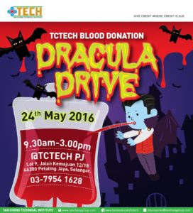 TCTECH dracula blood donation